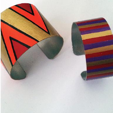tribal cuff feature