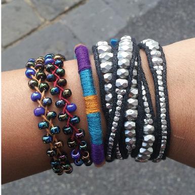 Seed Braid Bracelet Feature