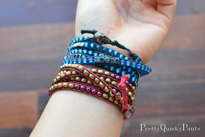 Tutorial Beaded Wrap Bracelet Instruction A