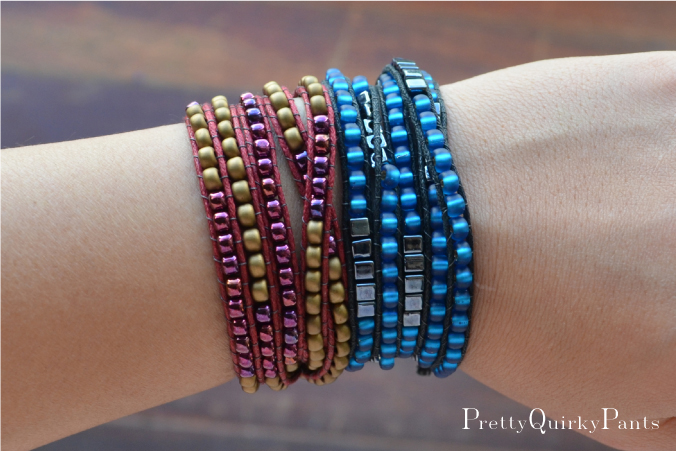 Pretty Quirky Pants Diy Bead Wrap Bracelet