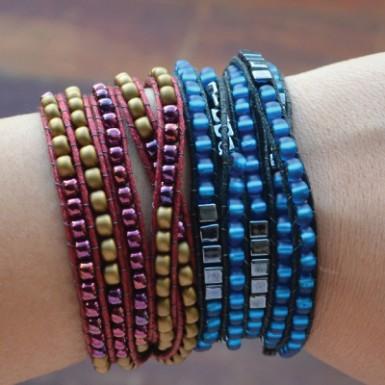 Wrap Bead Bracelet Feature