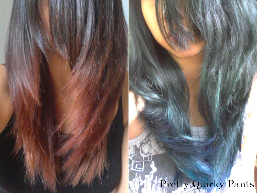 Pretty Quirky Pants | DIY Hair Colour