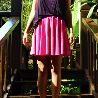 diy circle skater skirt feature