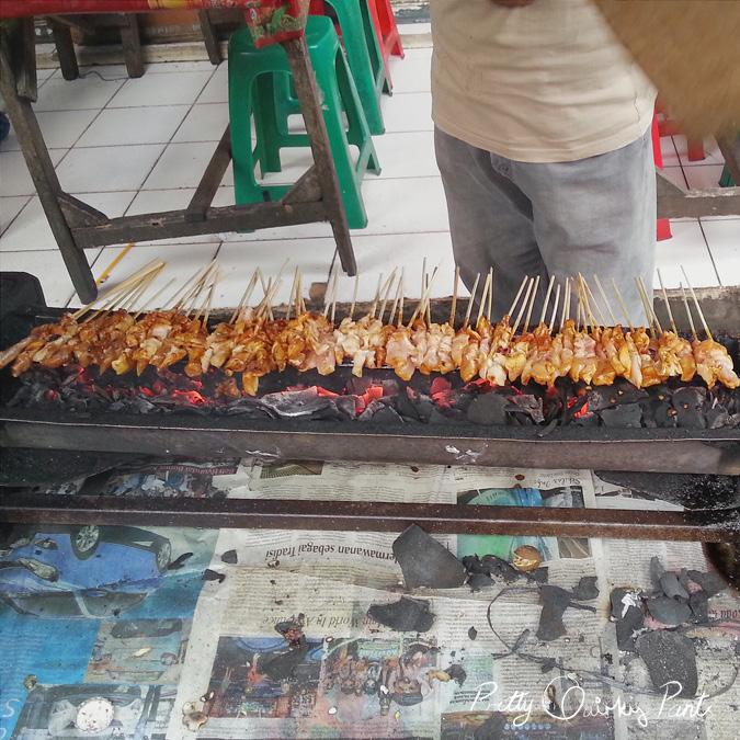jakarta satay cook