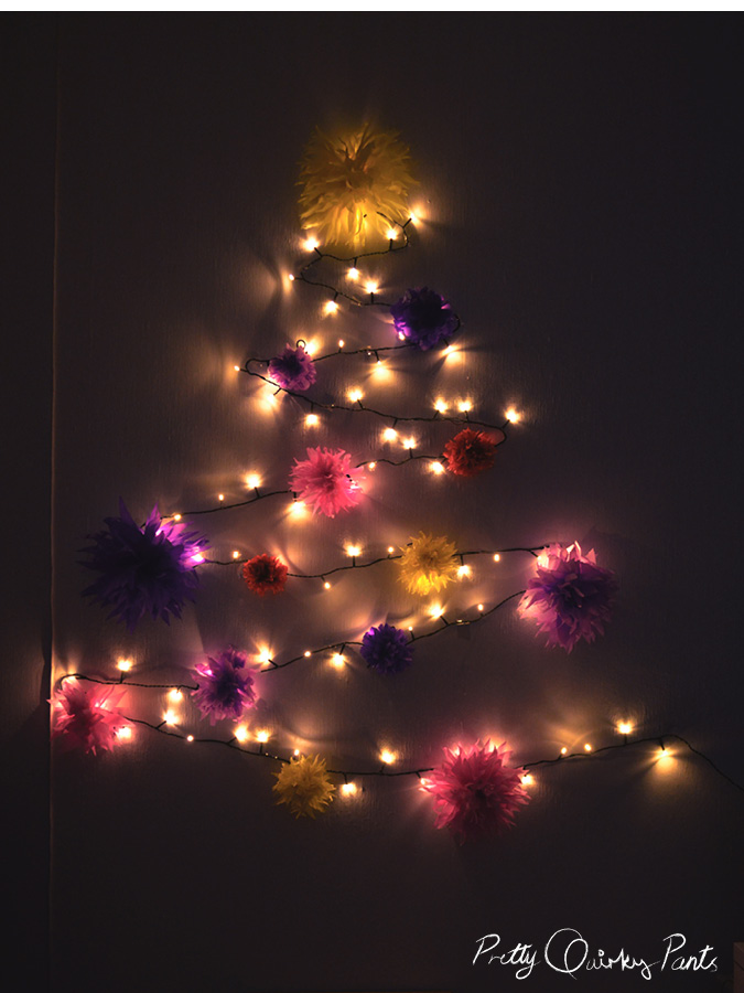fairy light christmas tree4
