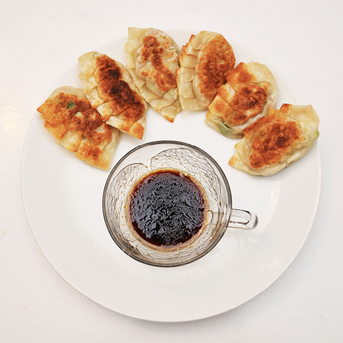 recipe for homemade gyoza dumplings
