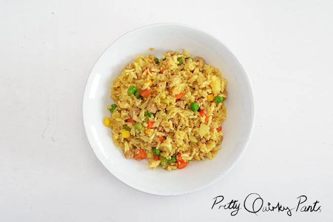 pineapple fried rice 4
