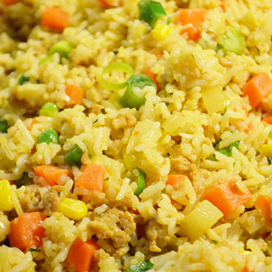 recipe for pineapple fried rice