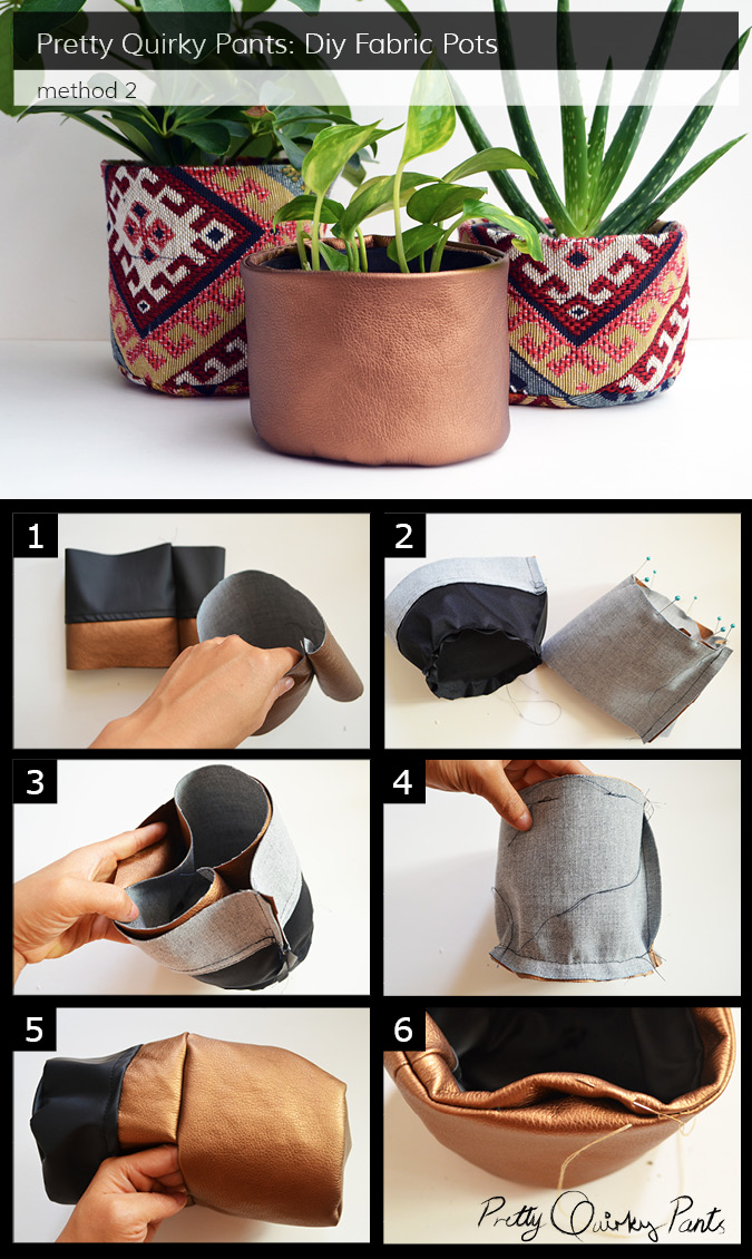 Instruction Layout - fabric pot 1