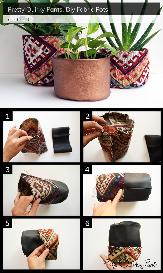 Instruction Layout - fabric pot 2