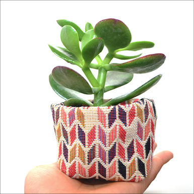 fabric pots feature
