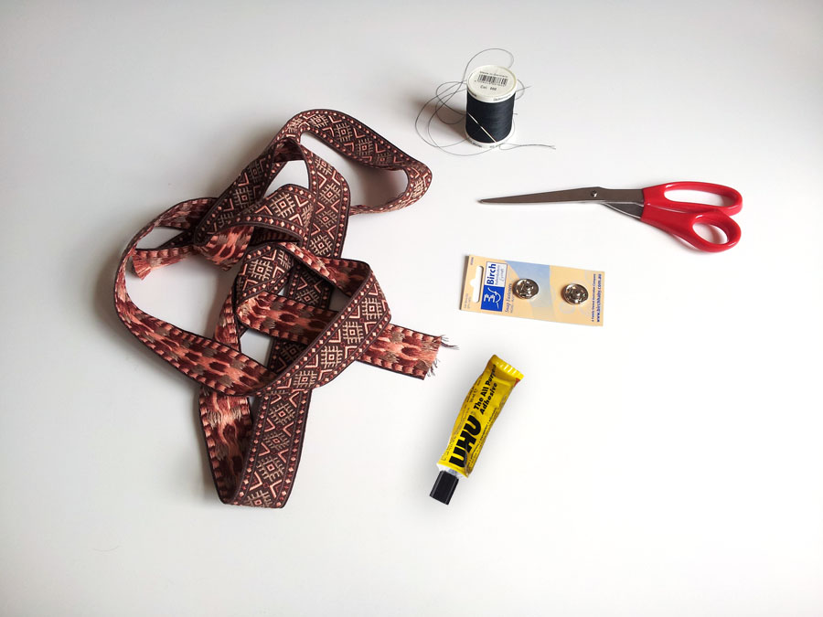 Tools for DIY adjustable belt