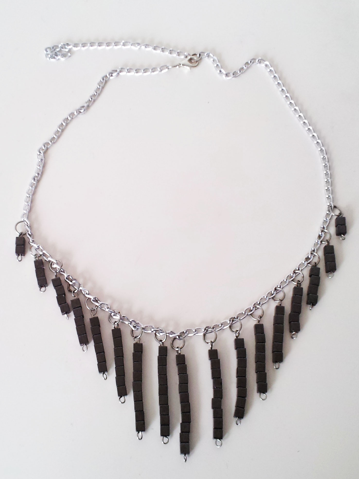 Final DIY Chandelier Necklace