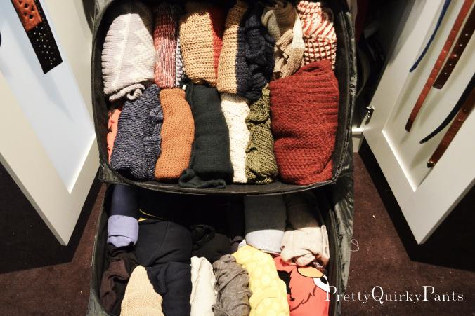 sweater storage solution