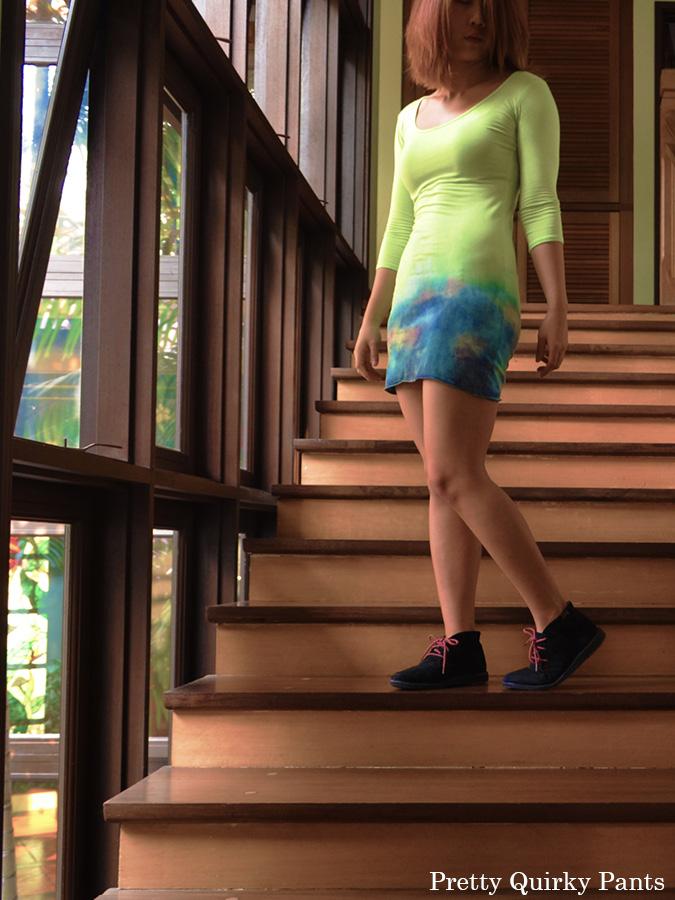 GALAXY OMBRE DRESS BH3