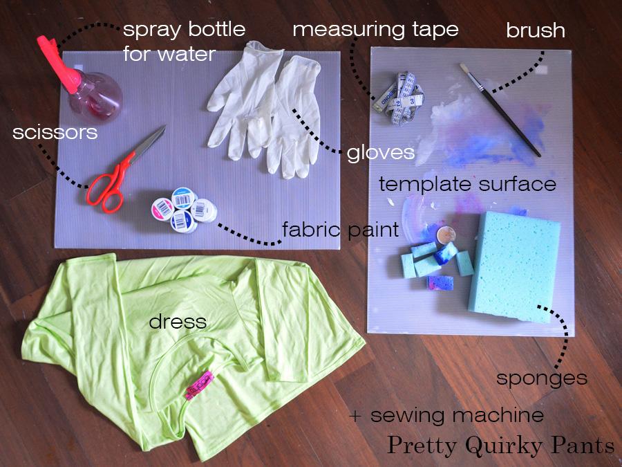 GALAXY OMBRE DRESS tools