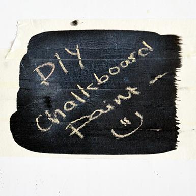 diy chalk board paint