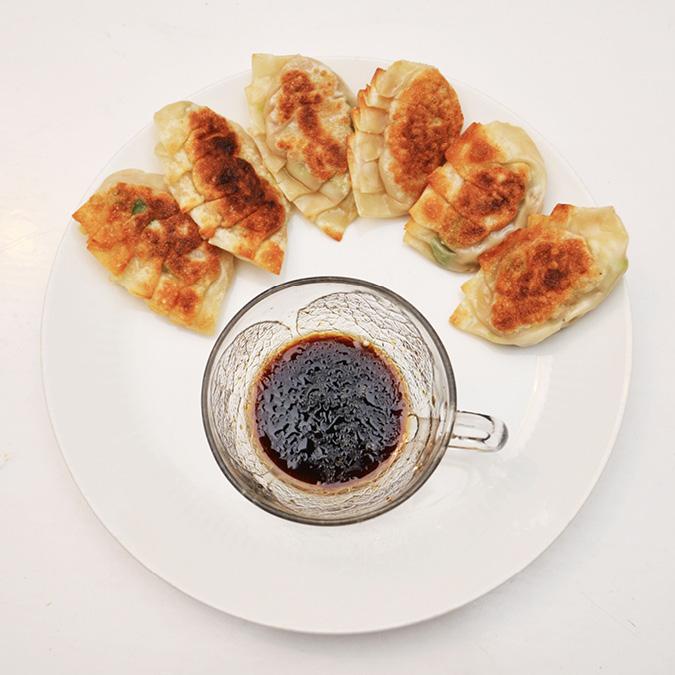recipe for homemade gyoza dumplings