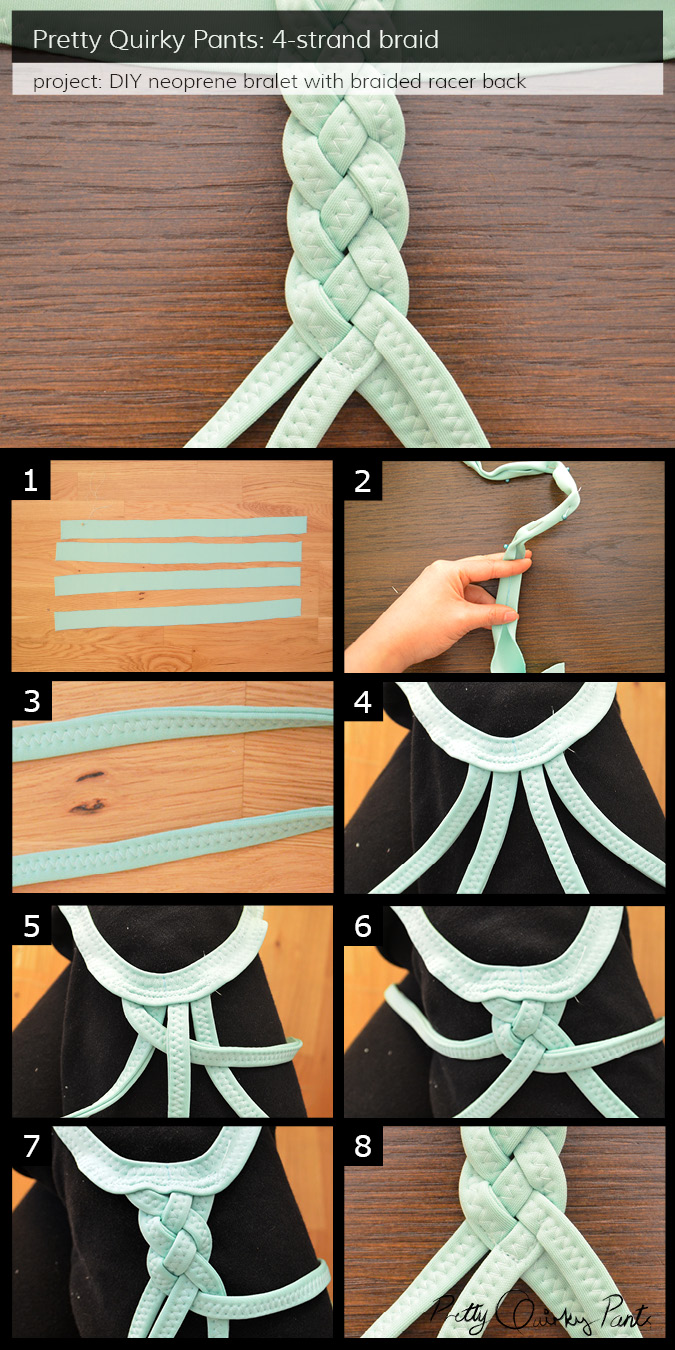 Instruction Layout - 4 strand braid