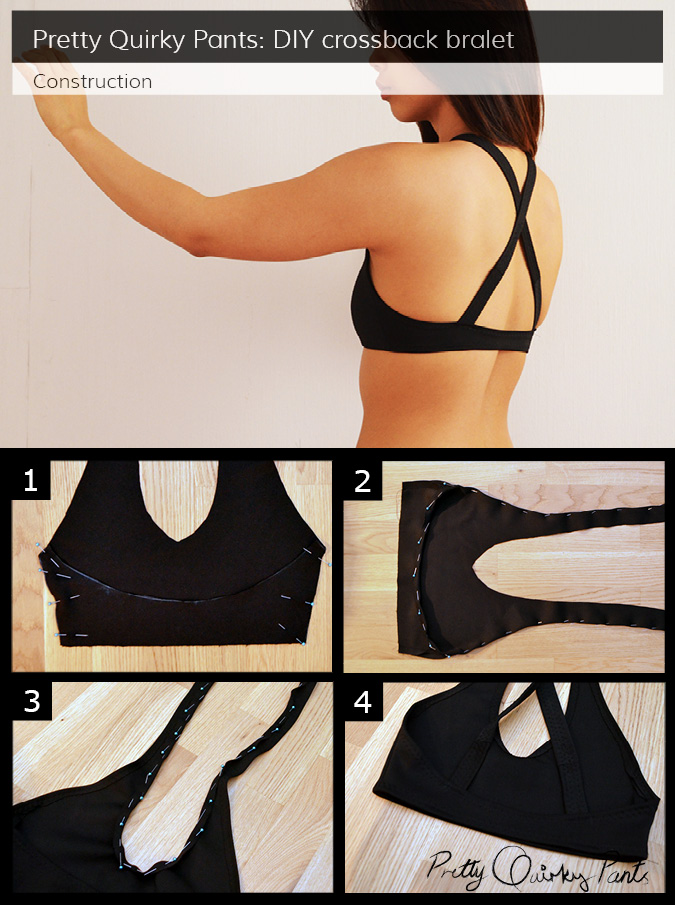 Instruction Layout - CROSS BACK BRALET