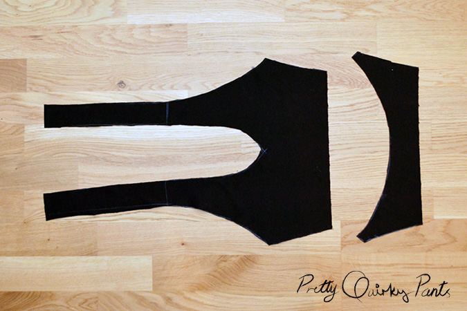 diy cross back bralet