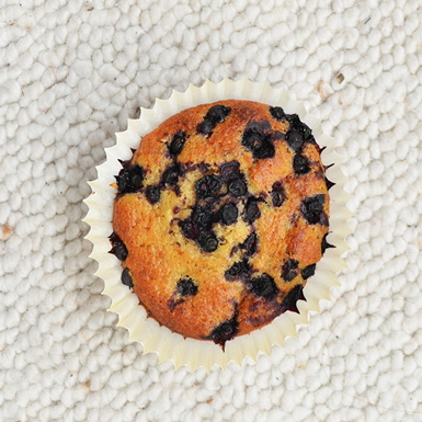 recipe for blueberry banana muffins
